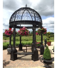 Gazebo Cast Iron & Stone